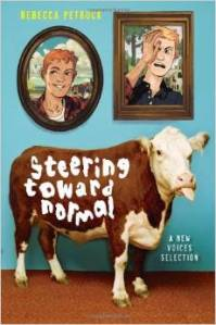 "Rebecca learned a lot about cattle, and ""plot cattle prods"" while writing Steering Toward Normal, her highly esteemed middle grade novel."