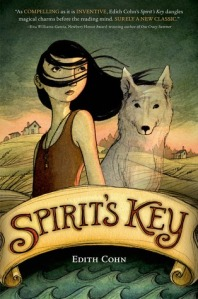 In Spirit's Key, Spirit is a girl psychic who can see the ghost of her pet dog. Her magic enhances her character arc of dealing with her dog's death. She improves her world by making a difference for other dogs in her community.