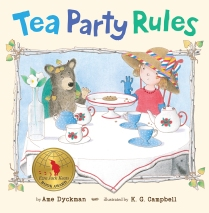 TEA PARTY RULES COVER WITH EJK MEDAL